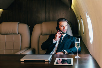 private jet charter chicago business